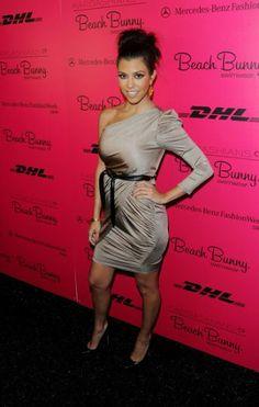 Kourtney Kardashian attends Mercedes-Benz Fashion Week Swim 2011 at The Raleigh on July 16, 2010 in Miami Beach, Florida.