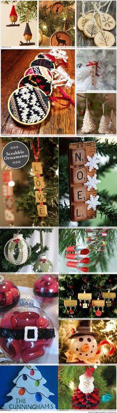 Homemade Christmas Ornaments: