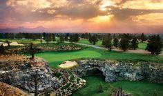 Golfing at Pronghorn in Bend, Oregon