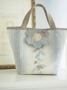 japanese hexagon flap bag - Pretty by Hand -