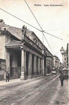 Verona - Via Teatro Filarmonico