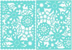 Diseño de la silueta tienda - Ver Diseño # 7587: Mariposa cuadrado encaje floral