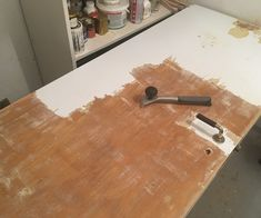 Fjerning av maling fra finérdører - Bygg og Bevar