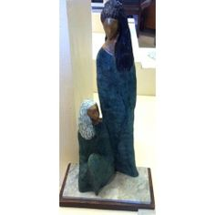 Alfred Tibor Sculpture Sisters, Bronze. Available at Argo & Lehne Jewelers.