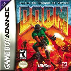 Doom. It's Doom. On the go. If you need more explanation, find whatever door is nearest to you and use it.
