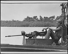 April 10, 1966 - During the Vietnam War, the river patrol boats (PBRs) of River Patrol Force commence operations on inland waters of South Vietnam.