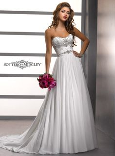 Large View of the Adele Bridal Gown