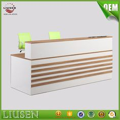 Source High gloss white contemporary office reception desk counter on m.alibaba.com
