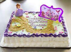 A princess Sophia birthday cake. Cake # 130.