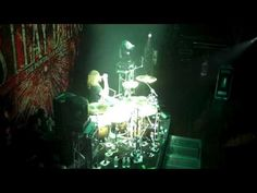 Jordan Mancino of As I Lay Dying drum solo. Maybe one day I'll be this good. That'd be sweet.