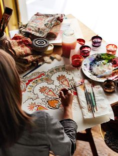 The paisley pattern has seen its fair share of history and culture. Read the behind the scenes scoop on the designing of this Fall season's Pottery Barn Paisley collection.