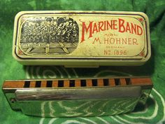 Hohner Harmonica Blues Harp MS Marine by VintageFairRetroRare