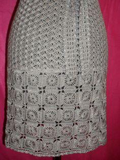 Perfect crochet dress. Colour gray. size 34-36 (European) 42-44 (Russian) the length of 80 cm.Composition cotton 50%, viscose 50% #етси