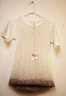 Tea Shirt by Meryl Smith