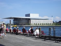 Operahuset i Danmark - Foto:Tina T The operahouse in Denmark.
