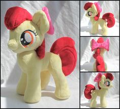 Apple Bloom Plush by stevoluvmunchkin.deviantart.com on @DeviantArt