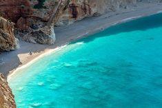 La isla griega de la costa turquesa (Lefkada, en las islas Jónicas)
