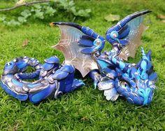 Ultramarine Baby Dragon