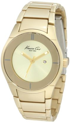 Kenneth Cole New York Women's KC4719 Analog Gold Dial Watch, (kenneth cole women watch)
