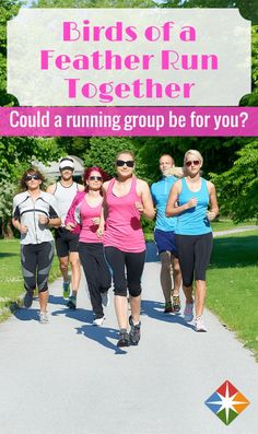 Could a running group be just the thing you need to get your running groove back on? We've found that running with a friend or a group of friends can help you set your pace, be motivational and inspiring, especially when your workout is a long one!