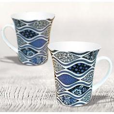 Blue Color Ebony Coffee Mugs Inr 180 Now