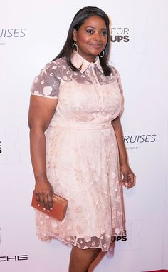 Octavia Spencer from The Big Picture: Today's Hot Pics | E! Online. The Oscar winner looks pretty in pink at the AARP 14th Annual Movies for Grownups Awards Gala.