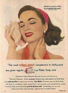 vintage beauty ads with celebrities | Vintage Beauty and Hygiene Ads of the 1950s (Page 57)