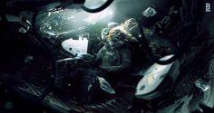 Benoit_Godde_Concept_Art_n01-Weyland_Yutani_Shuttle