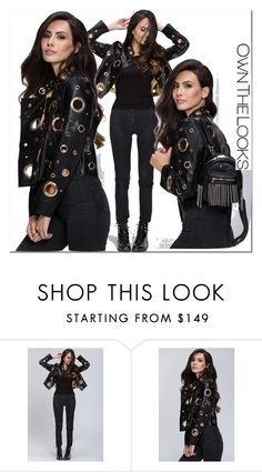 """""""7 ownthelooks"""" by melee-879 ❤ liked on Polyvore featuring jacket and ownthelooks"""