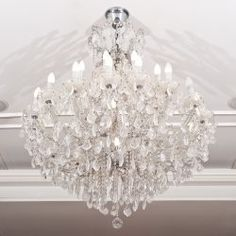 Tips on cleaning a crystal chandelier - Diy, Lifestyle.  Oh lord do I need mine cleaned!