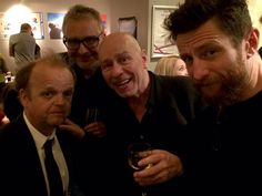 Matt Johnson #TheThe & actor Tony Jones (not sure who the others are)
