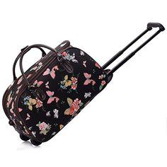 Ladies Travel Holdall Bags Hand Luggage Womens Butterfly Weekend Wheeled Trolley Handbag (Black Butterfly S4) TrendStar http://www.amazon.co.uk/dp/B011BQQJ4C/ref=cm_sw_r_pi_dp_lBPWvb0K1V2E6