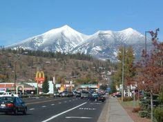 Flagstaff, AZ  (the view on my walk to school everyday -Amanda)