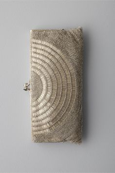 Love this deco beaded clutch to add a bit of glamour.