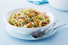 Crunchy Asian Broccoli Coleslaw