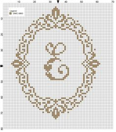 Ideas embroidery patterns free letters cross stitch for 2020 Monogram Cross Stitch, Small Cross Stitch, Embroidery Monogram, Cross Stitch Borders, Cross Stitch Alphabet, Cross Stitch Samplers, Cross Stitch Charts, Cross Stitch Designs, Cross Stitching