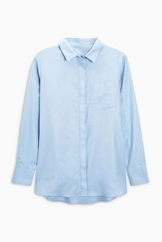 Buy Blue Perfect Shirt from the Next UK online shop
