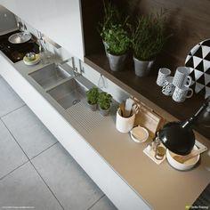 Trendy kitchen - good image