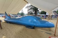Goodwood 2013: Land Speed Record Cars Gather!