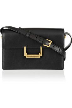 Saint Laurent Lulu leather shoulder bag | NET-A-PORTER
