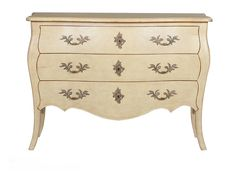 Virginie commode M-1502-422-SAIV The Virginie chest is as timeless as a vanilla milkshake … or should we say a crème brûlée? Either way, it's a delicious addition to your home with its ornamental hardware and beautiful finish. #HPmkt French Heritage 1638 English Road