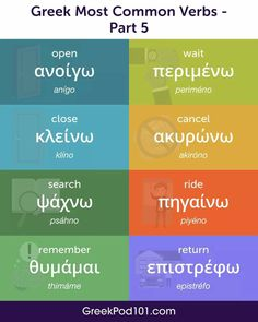 Learn Greek, Greek Language, World Languages, Twitter Sign Up, Insight, Infographic, Learning, Words, Ps