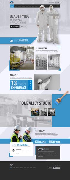 Responsive blue & White Web design & Development for a Painting company With an Attractive Revolution Parallax Slider (New Version). #ParallaxSlider, #AttractiveWebDesign, #BlueWhiteWebDesign, #ResponsiveWebDesign, #webDesigner, #webDeveloper, #design, #paintingCompanyWebsite, #paintingWebDesign, #paintingCompanyWebDesign, #paintingWebsite
