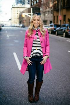 Layer on a punch of pink | theglitterguide.com