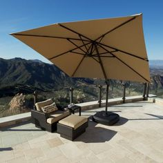 Portofino Signature Patio Resort Umbrella Costco 799 99