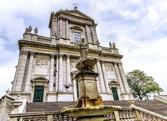 Ursus Cathedral, Solothurn, Switzerland by Elenarts - Elena Duvernay photo Camping Car, Place Of Worship, Notre Dame, Switzerland, Fine Art America, Cathedral, Beautiful Places, Around The Worlds, Wall Art