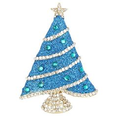EVER FAITH Gold-Tone Austrian Crystal Enamel Shining Star Christmas Tree Brooch Blue http://www.amazon.com/dp/B00R2464Z2/ref=cm_sw_r_pi_dp_uIV0vb0QW53MZ