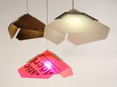 Base Lamp By Designtree Highlights The Elegance Of Discarded Signage.