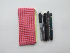 Pencil Pouch Zipper by LowlandOriginals on Etsy