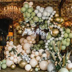 Diy Garland, Balloon Garland, Balloon Arch, Balloon Decorations, Baby Shower Decorations, Wedding Decorations, Orange Balloons, Pastel Balloons, Gold Balloons